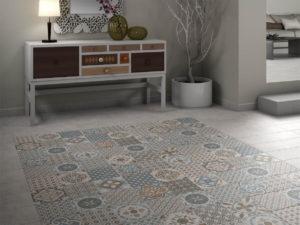 Płytki Saloni - przykład podłogi